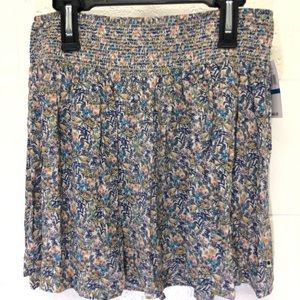 Lucky Brand NWT floral pattern skirt Size XL